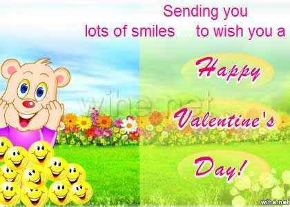 tarjeta san valentin smiles