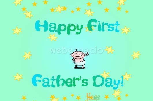 tarjeta feliz primer dia padre