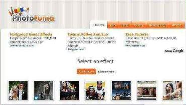 """Haz """"funny faces"""" con tus fotos en PhotoFunia.com"""