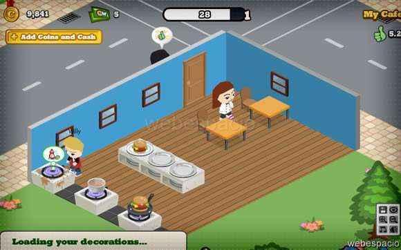 juego cafe world en facebook