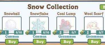 farmville-snow-collection