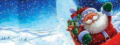 wallpaper santa arrivals