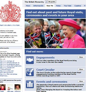 monarquia britanica facebook
