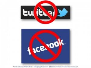 Televisión y radio de Francia prohibido de mencionar a Facebook y Twitter