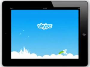 Skype lanza aplicación para iPad