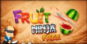 Logo de aplicaciones Fruit Ninja de Android Market
