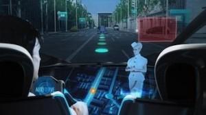 Sistema de navegación en 3D del Toyota Fun-VII