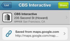 Cómo usar el botón Guardar en Foursquare