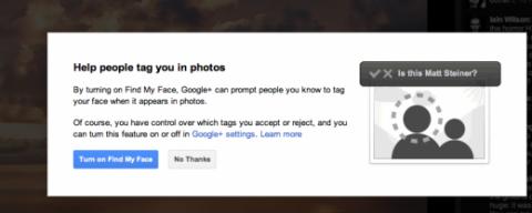 Google+ etiquetado