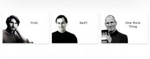 Logo de la muestra de Steve Jobs