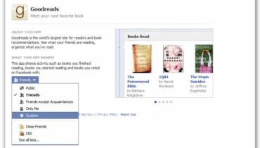 Aplicaciones nuevas de Facebook
