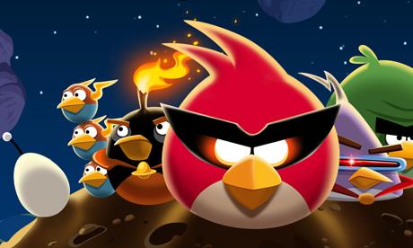 Descarga Angry Birds Space