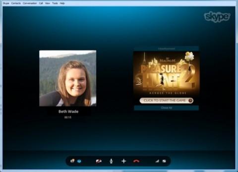 Skype anuncios publicitarios llamadas
