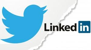 Twitter en LinkedIn
