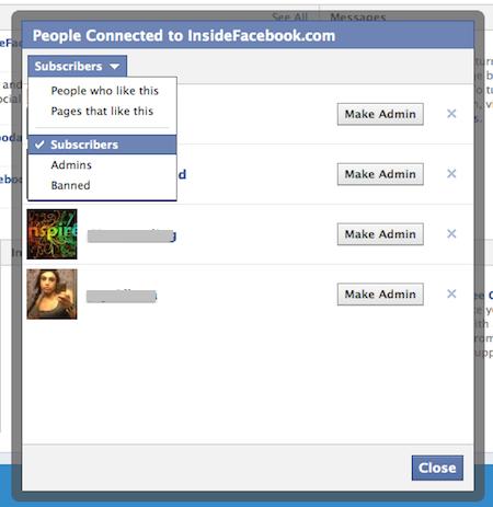 Páginas de Facebook ya pueden contar sus suscriptores