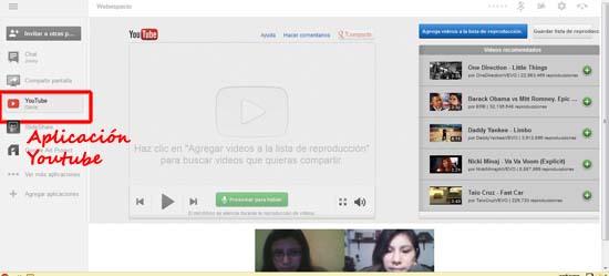 aplicacion de youtube