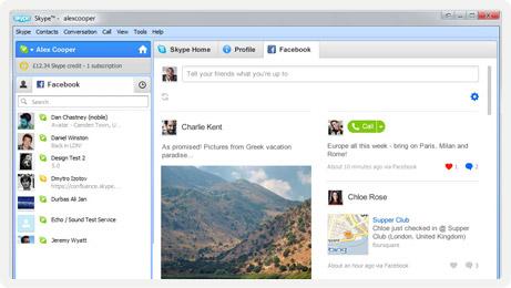 Conéctate con tus amigos de Facebook