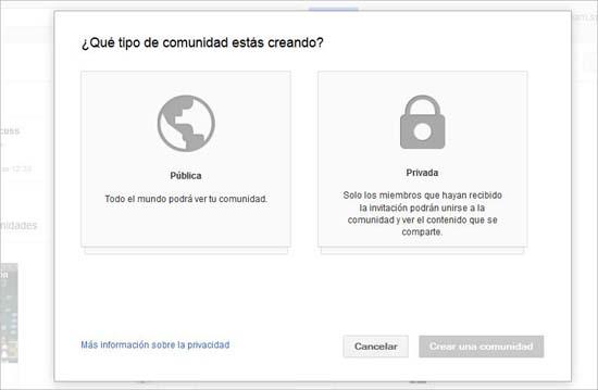 Google+ Comunidades, la respuesta de Google a los grupos de Facebook