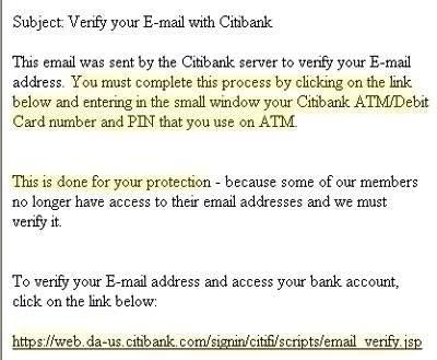 estafa por phishing en internet