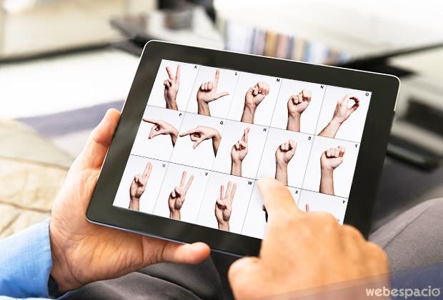 aplicaciones y recursos para aprender el lenguaje de señas