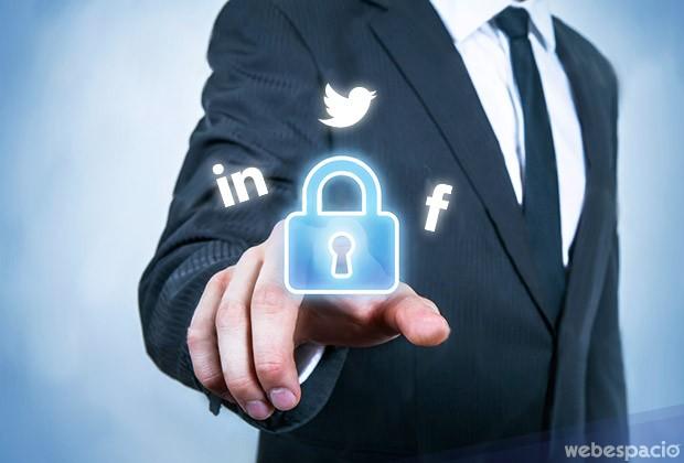 proteger tus cuentas de facebook, linkedIn y twitter