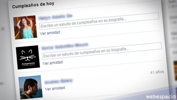 cumpleanos facebook