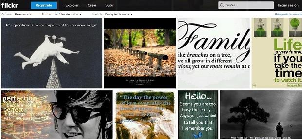 imagenes frases flickr