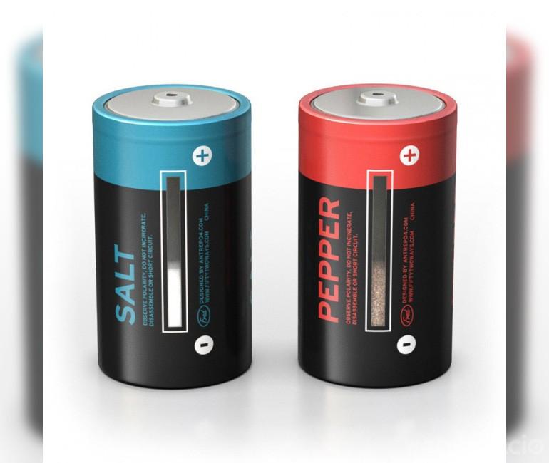 bateria sal y pimienta empaque