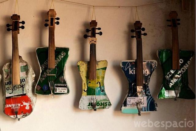 guitarras recicladas
