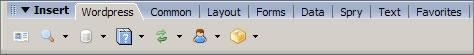 dreamweaver wordpress plugin