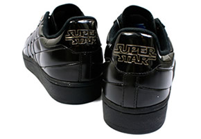 adidas super stars black