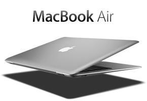macbook air open