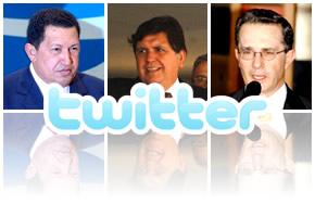 Twitter presidentes