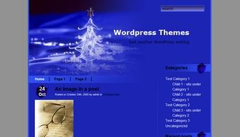 bluexmas 40+ Themes WordPress con Motivos Navideños