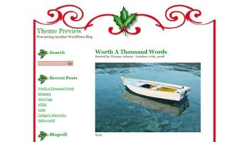 christmas1 40+ Themes WordPress con Motivos Navideños