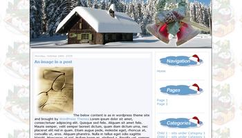 christmas10 40+ Themes WordPress con Motivos Navideños