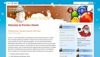christmas2 40+ Themes WordPress con Motivos Navideños