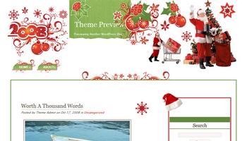 christmas2008 40+ Themes WordPress con Motivos Navideños