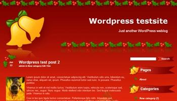 christmasbells 40+ Themes WordPress con Motivos Navideños