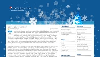 christmascrox 40+ Themes WordPress con Motivos Navideños