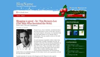 christmasdays 40+ Themes WordPress con Motivos Navideños