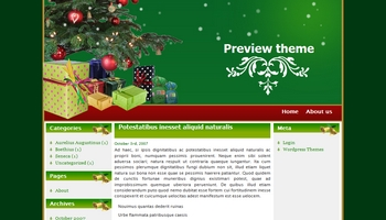 christmasgift 40+ Themes WordPress con Motivos Navideños
