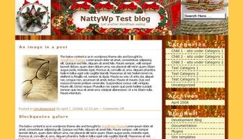 christmasjoy 40+ Themes WordPress con Motivos Navideños