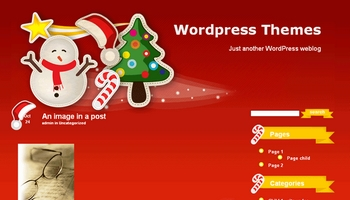 christmastime 40+ Themes WordPress con Motivos Navideños