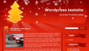 christmastree 40+ Themes WordPress con Motivos Navideños