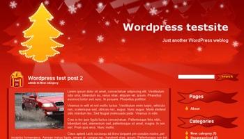 christmastree 40+ Themes WordPress con Motivos Navideños