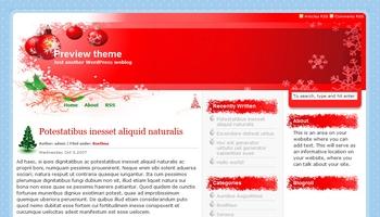 holidayseason 40+ Themes WordPress con Motivos Navideños