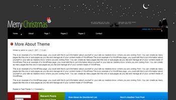 merrychristmas 40+ Themes WordPress con Motivos Navideños