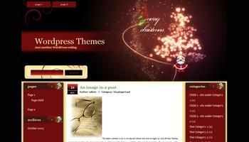 merrychristmas2009 40+ Themes WordPress con Motivos Navideños