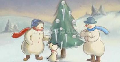 snowmen tree
